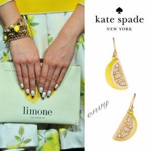 New! 🍋Kate Spade Lemon Tart Earrings!